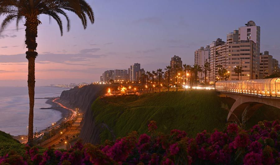 Day 1: Arrive to Peru and free night in Lima